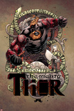 Mighty Thor No. 7 Cover Art Featuring Bodolf Prints by Russell Dauterman