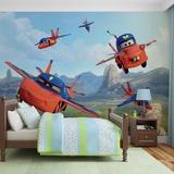 Disney Cars - Air Lightning and Mater - Vlies Non-Woven Mural Bildtapet
