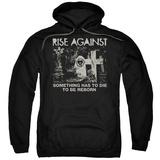 Hoodie: Rise Against- Die To Be Reborn Pullover Hoodie