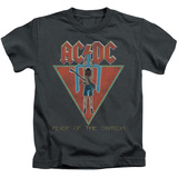 Juvenile: AC/DC- Flick Of The Switch Applique T-shirts