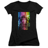 Juniors: Rocky Horror Picture Show- Whild Thing V-Neck Shirt