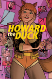 Howard the Duck No. 6 Cover Art Featuring: Squirrel Girl Poster by Quinones Joe