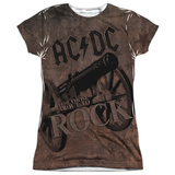 Juniors: AC/DC- Rock Cannon T-shirts
