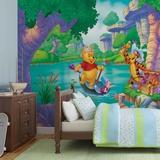 Disney Winnie the Pooh - Treasure Hunt - Vlies Non-Woven Mural Decorazione murale