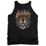 Tank Top: Rise Against- Tiger Bomb Tank Top