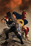 Thunderbolts No. 2 Cover Art Featuring: Winter Soldier, Atlas, Kobik Posters by Steve Epting