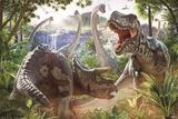 David Penfound- Dinosaur Battle Pósters por David Penfound