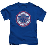Juvenile: Weezer- Distressed Rock Music Button Shirt
