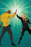 Marvel Knights Cover Art Featuring: Luke Cage, Iron Fist Prints