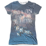 Juniors: Firefly- Keep Flying T-shirts
