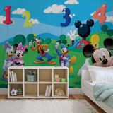 Disney - Mickey Mouse Counting with Friends - Vlies Non-Woven Mural Vægplakat