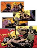 Marvel Knights Panel Featuring Iron Fist Prints