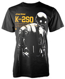 Star Wars: Rogue One- K-2S0 Profile T-shirts