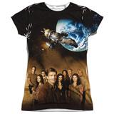 Juniors: Firefly- Cast Poster T-Shirt