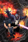 Venom: Space Knight No. 6 Cover Art Featuring: Venom, Flash Thompson Print by Ariel Olivetti