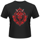 Star Wars- Darth Maul silhouette medallion T-Shirts