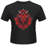 Star Wars- Darth Maul silhouette medallion T-Shirt