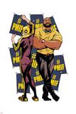 Marvel Knights Badge Art Featuring: Luke Cage, Iron Fist Fotky