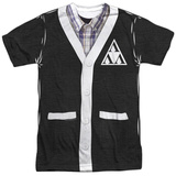 Revenge Of The Nerds- Tri-Lambda Cardigan Costume Tee Sublimated