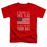 Toddler: Pack & Go (Unamericana) Shirt