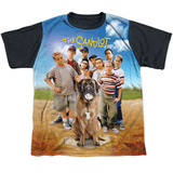 Youth: Sandlot- Sandlot Poster Black Back T-Shirt