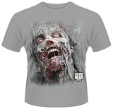 The Walking Dead- Rotten Walker Face T-shirts