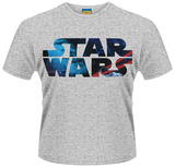Star Wars- Block Space Logo T-Shirts
