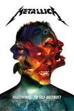 Metallica- Hardwired Album Art Plakaty