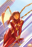 The Amazing Spider-Man No. 15 Cover Art Featuring: Mary Jane Watson, Iron Spider-Man Poster av Alex Ross