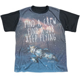 Youth: Firefly- Keep Flying Black Back T-shirts