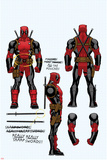 Deadpool Cover Art Affiche