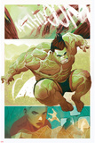 The Totally Awesome Hulk No. 9 Panel Posters par Mike Del Mundo