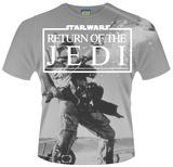Star Wars: Return Of The Jedi- Fett Action (Dye Sub) T-Shirt