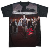 Rocky Horror Picture Show- Annual Conventional Strut Black Back Shirts