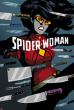 Spider-Woman No. 6 Cover Art Photo by Javier Rodriguez