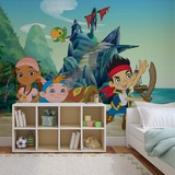 Disney Jake & the Neverland Pirates - Group - Vlies Non-Woven Mural Tapettijuliste