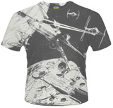 Star Wars- Space Dog Fight (Dye Sub) Sublimated