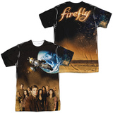 Firefly- Cast Poster (Front/Back) T-Shirt