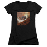Juniors: Weezer- Alright In The End Album Cover V-Neck T-Shirt