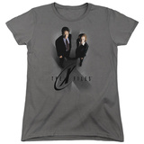 Womens: X Files- X Marks The Spot T-shirts