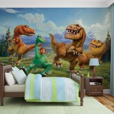 Disney The Good Dinosaur - Group Vægplakat i tapetform