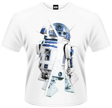 Star Wars: The Force Awakens- R2D2 Chopped T-Shirts