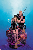 Mockingbird No. 4 Cover Art Featuring: Mockingbird, Hawkeye Posters by Joelle Jones