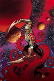 Guardians of the Galaxy Cover Art Featuring Drax Prints