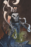 The Punisher No. 1 Cover Art Photo by Chris Stevens