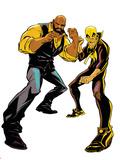 Marvel Knights Panel Featuring: Luke Cage, Iron Fist Fotografie