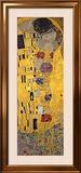 Le Baiser, vers 1907, détail Affiche par Gustav Klimt