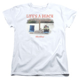 Womans: Office Space- Life Is A Beach T-shirts