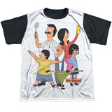 Youth: Bobs Burgers- Hero Pose Black Back Shirt