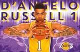 NBA: Los Angeles Lakers- D'Angleo Russell Poster